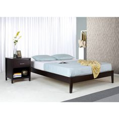 Expresso Simple Platform Full Bed - Bernie And Phyls
