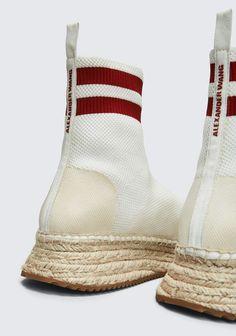 ALEXANDER WANG new-arrivals-shoes-woman DYLAN KNIT ESPADRILLE BOOTIE