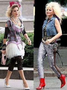 vestiti anni 80