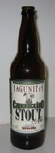 Cappuccino Stout-Lagunitas Brewing Company  (Petaluma, California, United States)    American Double / Imperial Stout | 9% ABV    87 (good)