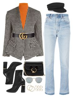 """""""678"""" by greaat-simplicity ❤ liked on Polyvore featuring Étoile Isabel Marant, Roksanda, Gucci, RE/DONE, 3.1 Phillip Lim, Ray-Ban, ASOS and J.W. Anderson"""