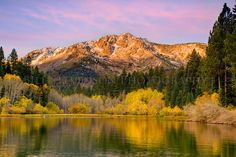 Picture of Mt. Tallac and Fallen Leaf Lake taken by Bill Stevenson #fall #landscape #photography