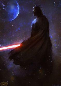 Star Wars - Darth Vader by Adnan Ali *
