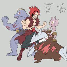 Pokemon Crossover, Anime Crossover, Pokemon Nes, Pokemon Universe, Devian Art, Pokemon Special, Like Image, Boku No Hero Academia, Anime Art