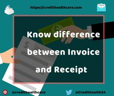 Know difference between Invoice and Receipt Credit Score, Finance Tips, Different, Advice, Business, Store, Business Illustration