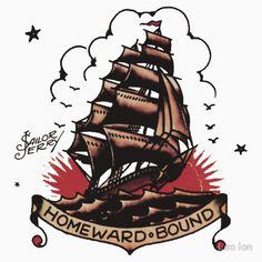 Sailor Jerry Traditional Tattoo - Homeward Bound