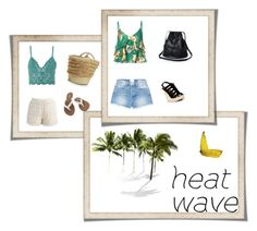 """heate wave"" by eldina-jamakovic ❤ liked on Polyvore featuring Topshop, Alice + Olivia, Frame, Chinese Laundry, Chicwish, Volcom and Caterina Bertini"
