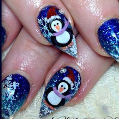 http://decoraciondeunas.com.mx/post/103190950507/ahh-so-cute-3d-penguins-copied-cuteglitternails | #moda, #fashion, #nails, #like, #uñas, #trend, #style, #nice, #chic, #girls, #nailart, #inspiration, #art, #pretty, #cute, uñas decoradas, estilos de uñas, uñas de gel, uñas postizas, #gelish, #barniz, esmalte para uñas, modelos de uñas, uñas decoradas, decoracion de uñas, uñas pintadas, barniz para uñas, manicure, #glitter, gel nails, fashion nails, beautiful nails, #stylish, nail styles