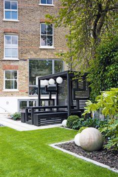 Garden Pergola. Contemporary GardensModern GardensBeer ...