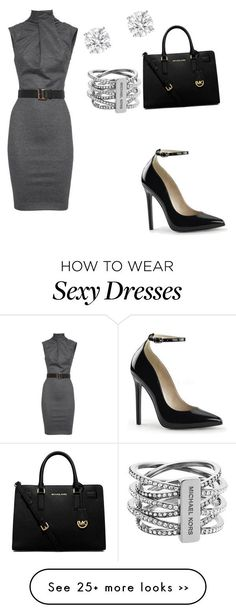 """""""formal"""" by nan-cy-i on Polyvore featuring Dsquared2, MICHAEL Michael Kors and Michael Kors"""