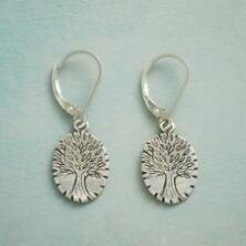 These lovely Jes MaHarry sterling silver tree earrings illuminate your look and your spirit.