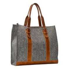 Felt & Leather Carryall in Sale SHOP Jewelry+Accessories at Terrain