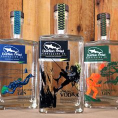 Dogfish Head craft brewery unveils new spirits line