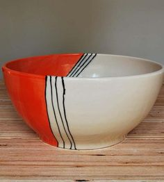 Orange House Medium Stoneware Serving Bowl | Home Decor | Toast Ceramics | Scoutmob Shoppe | Product Detail