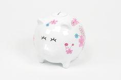 Piggy Bank Branco   A Loja do Gato Preto   #alojadogatopreto   #shoponline   referência 72928091