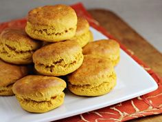 Thanksgiving Recipes : Sweet Potato Biscuits - Thanksgiving Leftovers Idea