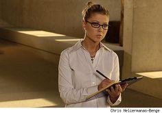 Tara Reid in cute glasses