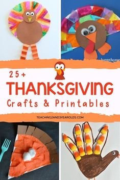 25 Thanksgiving Craft Ideas for Preschoolers to do at home or in the classroom. A fun addition to your fall curriculum! 25 Thanksgiving Craft Ideas for Preschoolers to do at home or in the classroom. A fun addition to your fall curriculum! Thanksgiving Crafts For Toddlers, Free Thanksgiving Printables, Thanksgiving Activities, Turkey Crafts For Preschool, Fall Crafts For Preschoolers, Fall Toddler Crafts, Diy Thanksgiving, K Crafts, Holiday Crafts