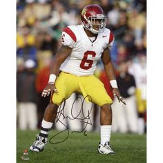 "Malcolm Smith USC Trojans Fanatics Authentic Autographed 8"" x 10"" Lining Up In Stance Photograph - $79.99"