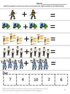 math worksheet : 1000 images about munity helpers on pinterest  community  : Kindergarten Community Helpers Worksheets