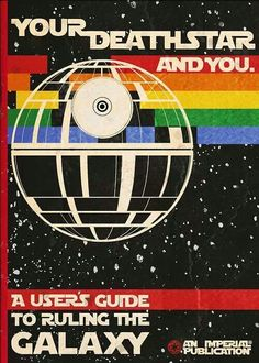 The Death Star Retro User Guide - It's a must have for every up and coming sith lord.