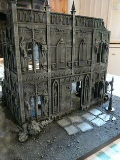 Oh look, another Cities of Death board!) - Page 6 Game Terrain, 40k Terrain, Wargaming Terrain, Warhammer Figures, Warhammer 40k Miniatures, Warhammer Fantasy, Warhammer Terrain, Diy Table Top, Space Wolves