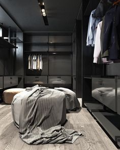 Explore the best of luxury closet design in a selection curated by Boca do Lobo to inspire interior designers looking to finish their projects. Discover unique walk-in closet setups by the best furniture makers out there Walk In Closet Design, Closet Designs, Unique Furniture, Furniture Design, Furniture Makers, Home Interior, Interior Design, Dressing Room Closet, Modern Closet