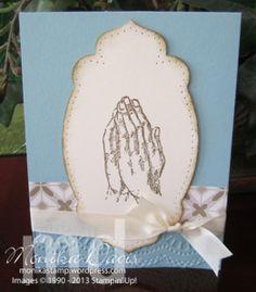 Retiring Stamp set – Praying Hands |