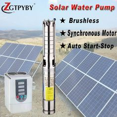 solar pump high flow exported to 58 countries solar dc pool pumps #Affiliate #HomeSolarPower