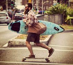 surfer, skater