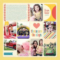 Sheri Mae Designs: fun fair   project life - kraft edition available at AC Digitals