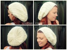 free crochet pattern super soft alexandria slouch