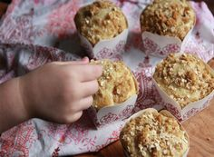 Oatmeal Topped Fig Muffins: a Cooking Light favourite.