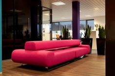 curacao - indera project - super modular sofa - pink version