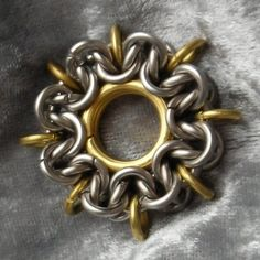 chainmaille compass rose