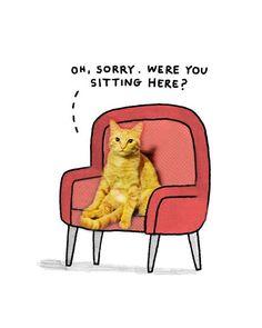 I'm sorry, were you sitting here?