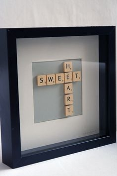 Cute decorating idea. And you can personalize it to say anything you want!