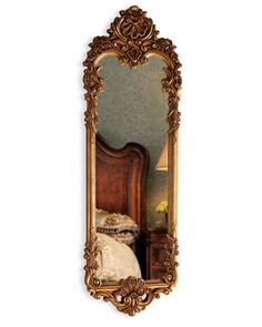 """Sophia"" Dressing Mirror at Neiman Marcus. Ornate Mirror, Vintage Mirrors, Mirror Mirror, Long Mirror, Mirror Ideas, Dressing Mirror, Beautiful Mirrors, Through The Looking Glass, Chinoiserie"