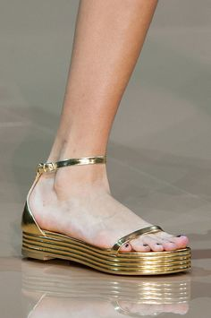 Best Runway Shoes and Bags at Fashion Week Spring 2015 | POPSUGAR Fashion. Just Cavalli Spring 2015