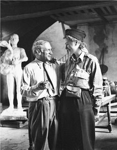 Lee Miller, self-portrait with Pablo Picasso on the Liberation of Paris 1944
