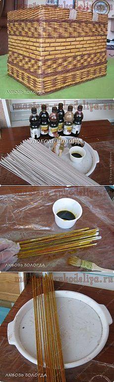 Artigianato master - artigianato per la casa. Workshop gratuiti, foto e video tutorial - classe Maestro: metodo dei tubi di giornale pittura