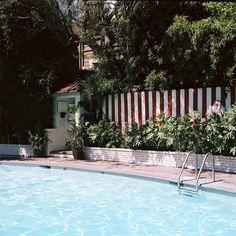 Chateau Marmont pool.