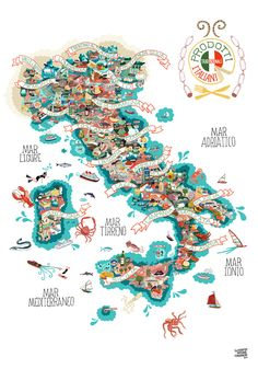 Image of Prodotti Tradizionali Italiani: I want this, but not enough wall space in my kitchen!! : (