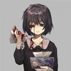 NiAdd: sube tu manga / novela original y escribe tus reseñas de manga en Niadd, Diy Abschnitt, Sad Anime Girl, Anime Art Girl, Anime Negra, Arte Emo, Character Art, Character Design, Blood Anime, Dark Art Illustrations, Arte Obscura