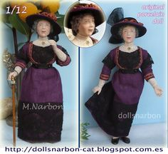 1/12 scale porcelain doll available in Etsy https://www.etsy.com/listing/97520978/old-lady-style-1910-original-porcelain?ref=shop_home_active_9
