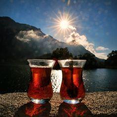 ''bir günoturupçay içelim seninle.... Çaylarbenden olsun manzarasenden..'' #orhankemal  Kargı, Burdur, Turkey /Photo by onderkoca