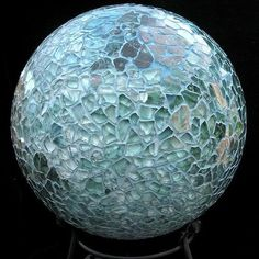 Karen Schechterle uploaded this image to 'Garden Junk Inspiration Albums/Bowling Balls'.  See the album on Photobucket.