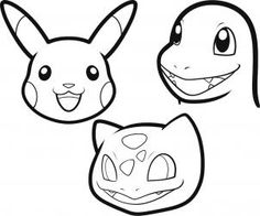 how to draw cool things | Pokemon Characters - How to Draw Pokemon Easy