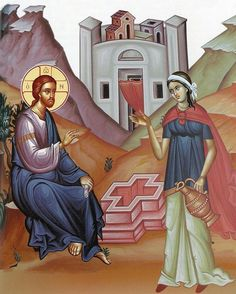 St. Photini, the Samaritan Woman at the well