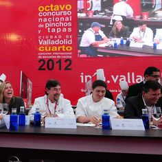 Judging at the International Tapas Competition in Valladolid Spain 2012. It was an honour to be invited to help judge the competition. My hosts took me all over the region sampling food and wines for 6 days. #spain #espana #chefkevinashton #judge #international #competition #tapas #valladolid